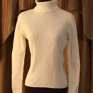 Orvis Winter White Cable Sweater